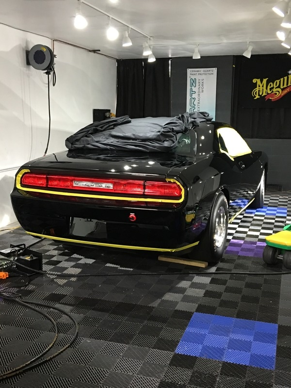 Dodge Challenger Paint Correction and Detail at Windows and Wheels Detailing in Gilbert,Az